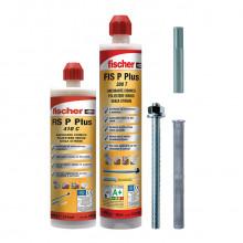 FIS P PLUS resina poliestere certificata per applicazioni in muratura piena e forata e in calcestruzzo non fessurato