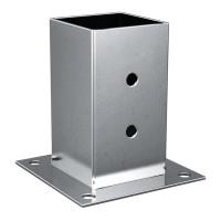 Portapilastro quadrato XFSS-14030 hdg