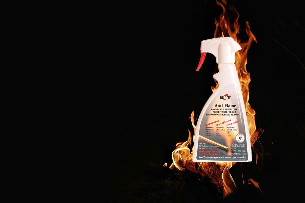 BBB Antiflame spray antincendio ecologico